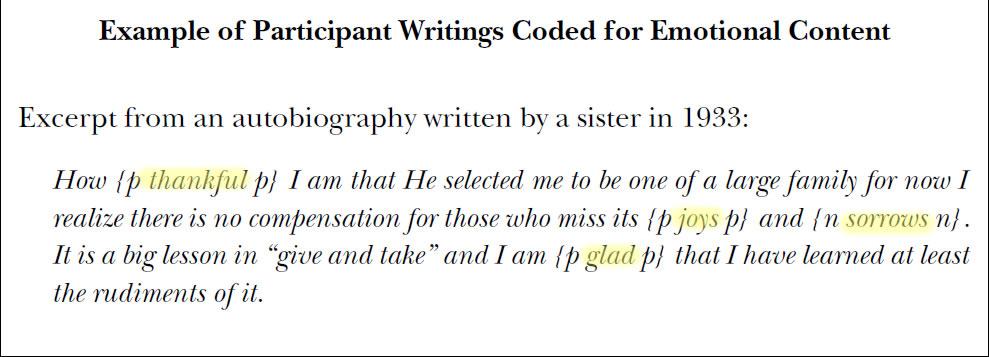 Пример анализа автобиографии