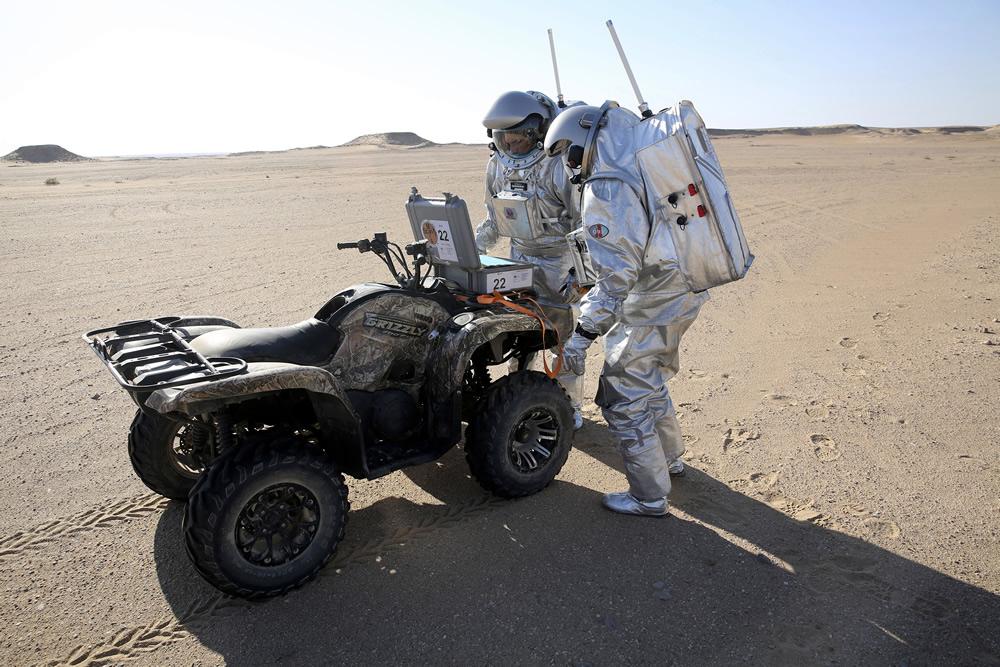 симуляция экспедиции на Марс AMADEE-18