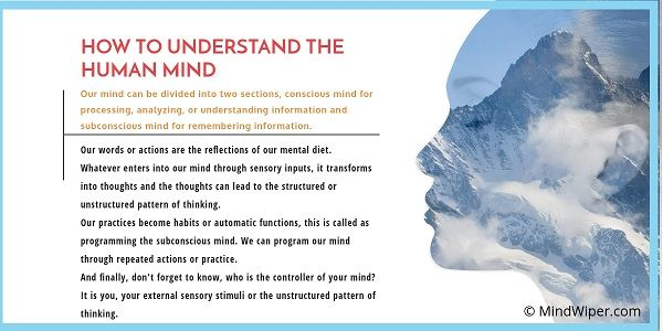 How To Understand Your Mind