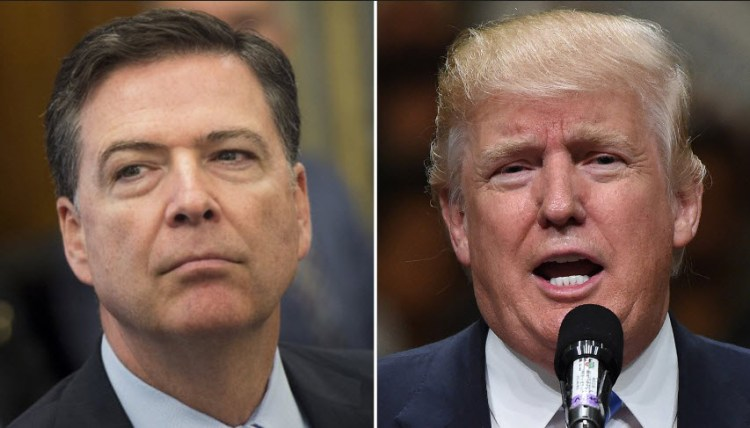 House Intelligence Committee sets deadline for Trump to produce taped Comey conversations