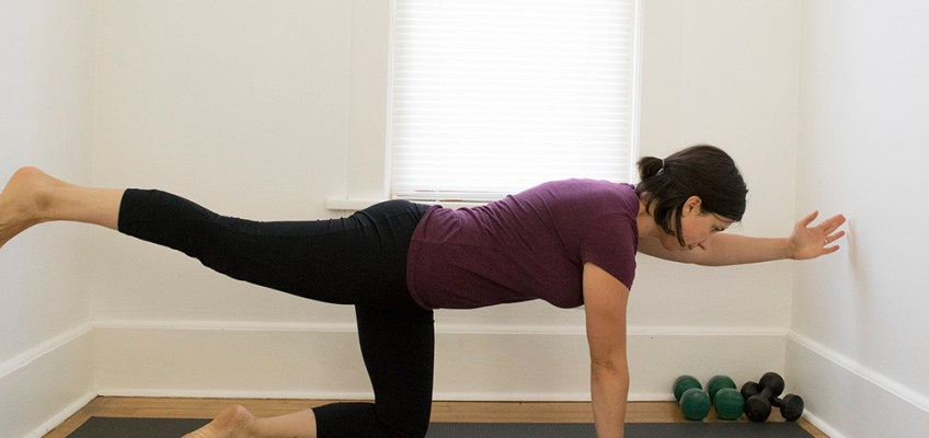 5 Simple Core Exercises on All Fours