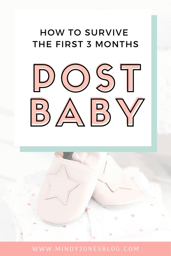 how to survive first 3 months post baby, baby shoes