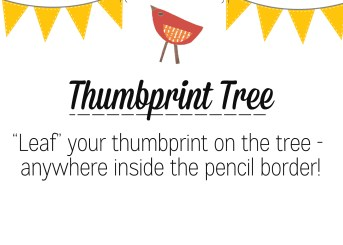 Thumbprint Tree