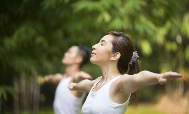 What yoga exercises can girls do for good health? 3
