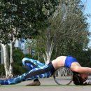 Why do people use yoga wheels? 8