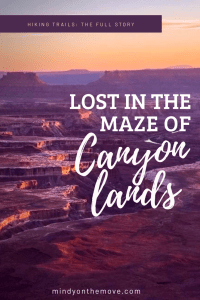 Lost In the Maze Of Canyonlands