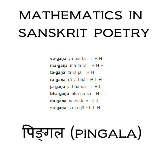 A Combinatorics Problem From Classical Indian Poetry