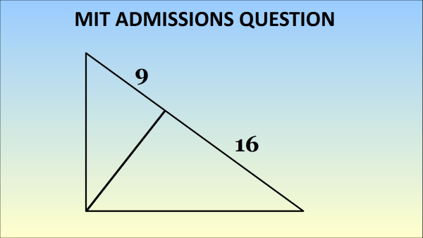 Can You Solve This 1869 MIT Admissions Geometry Question? Sunday ...