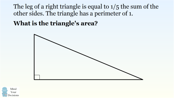 A Special Right Triangle With Perimeter 1 Sunday Puzzle Mind – Pythagorean Theorem Puzzle Worksheet