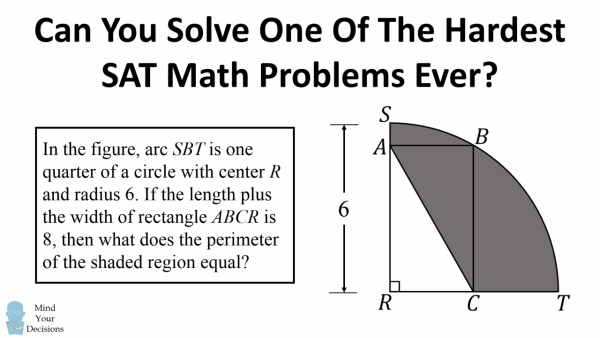 One of the Hardest SAT Math Problems