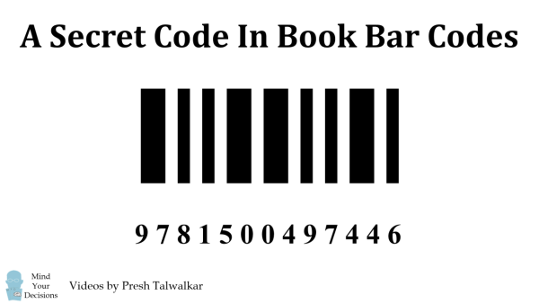 Secret Code In Book Barcodes (ISBN checksum calculation