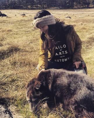 Nury as Inuit Bear Tamer