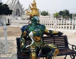 Chiang Rai Weisser Tempel Transformer