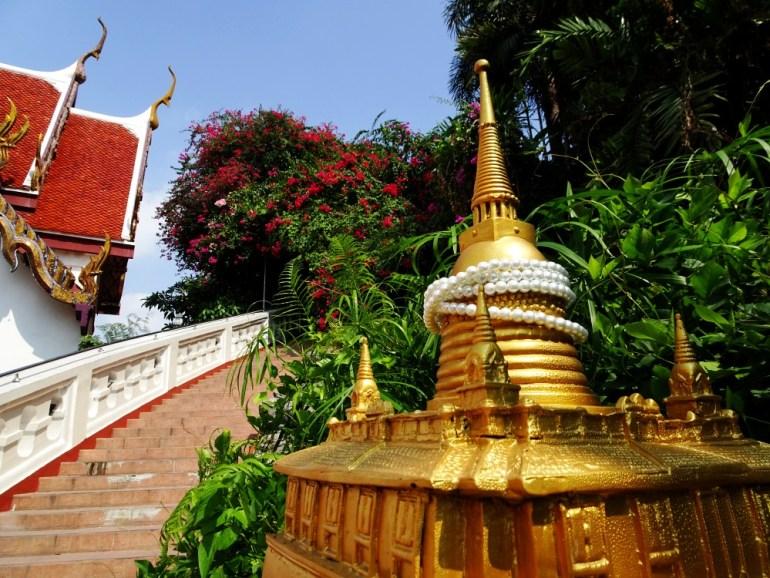 Eingang zum Golden Mount Bangkok