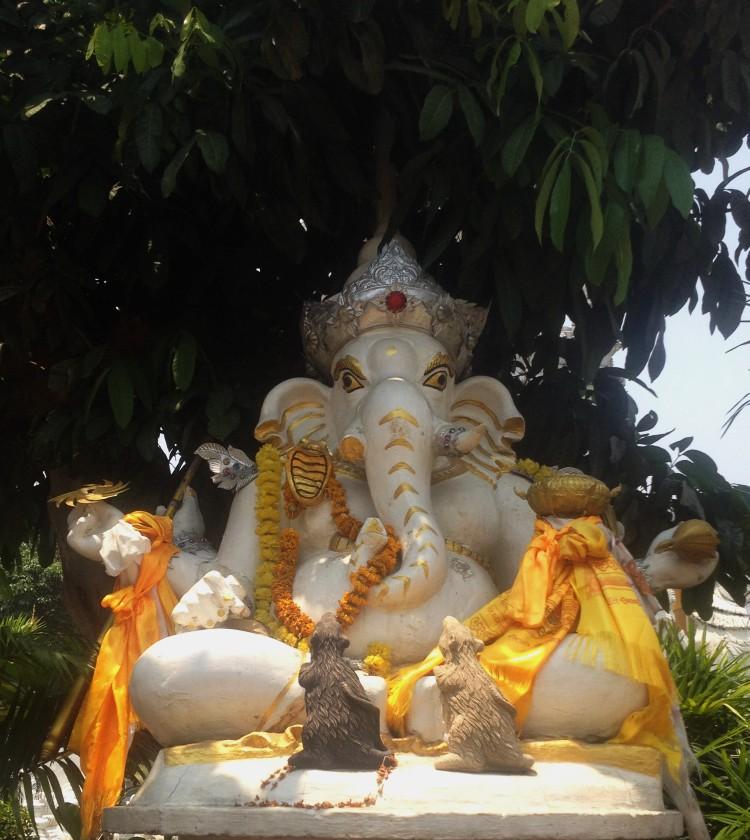 Wat Buppharam Elefant Chiang Mai