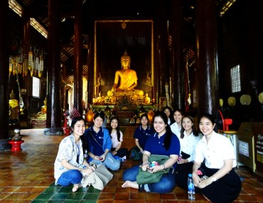 Wat Pan Tao Holztempel Chiang Mai