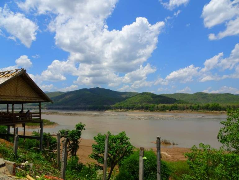 Blick auf Mekong Country Side