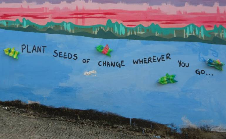 Plant Seeds of Change where ever you go