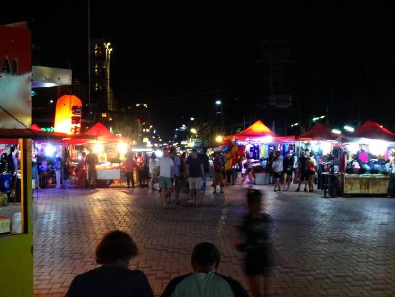 River Night Market Vientiane