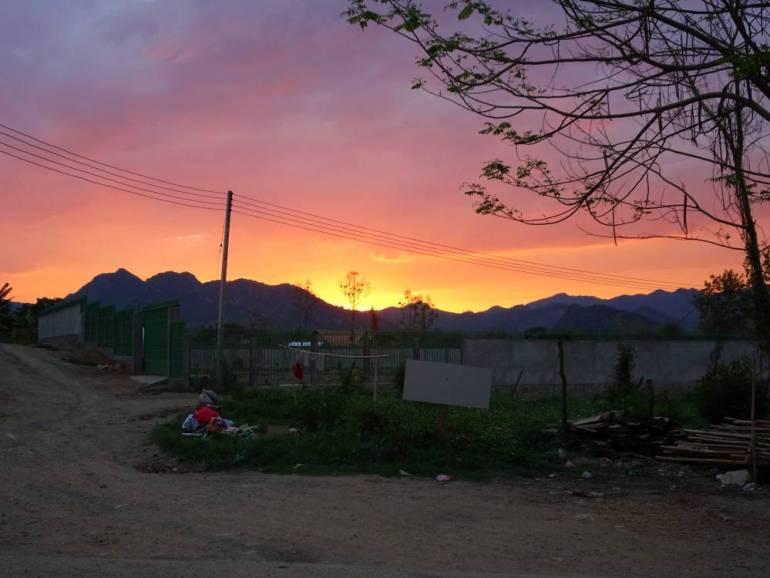 Sonnenuntergang Luang Prabang