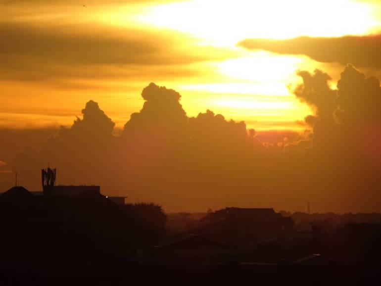 Über den Dächern von Battambang