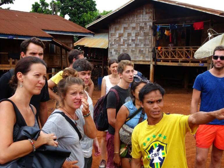 Führung von Captain Hook Laos