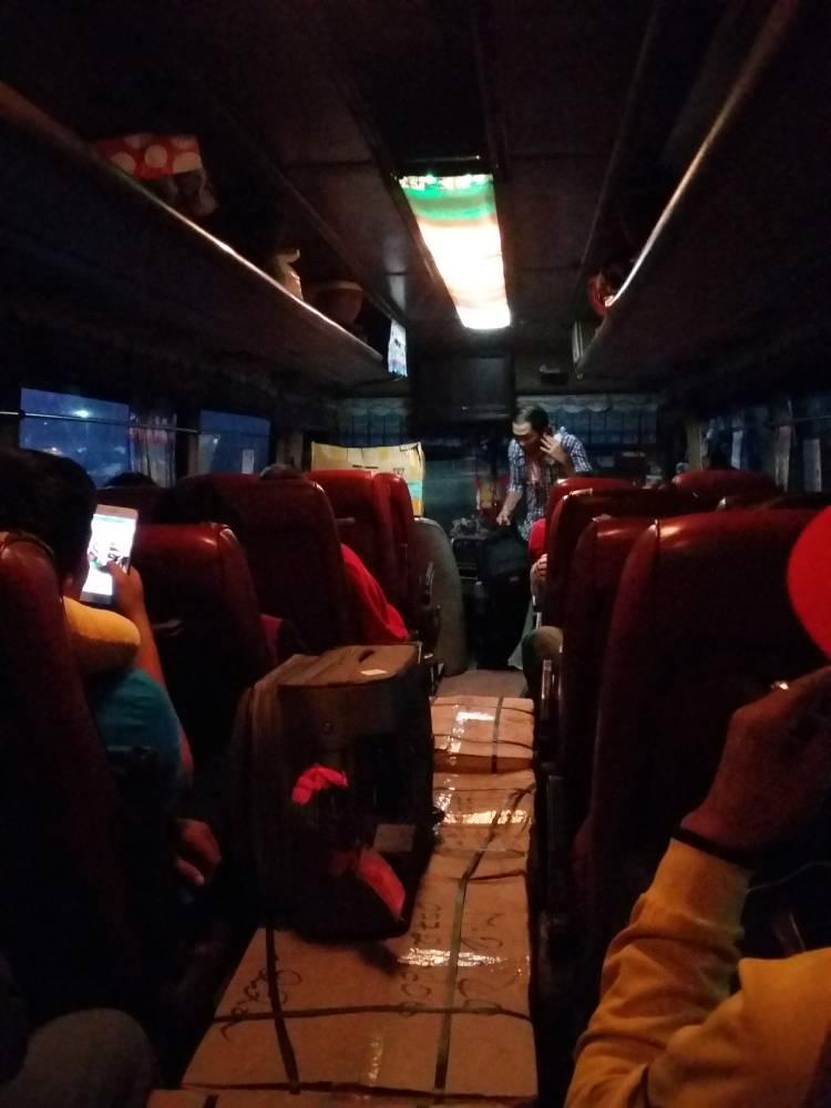 Bus von Battambang nach Sihanoukville