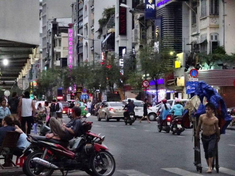 Strassenszene Saigon