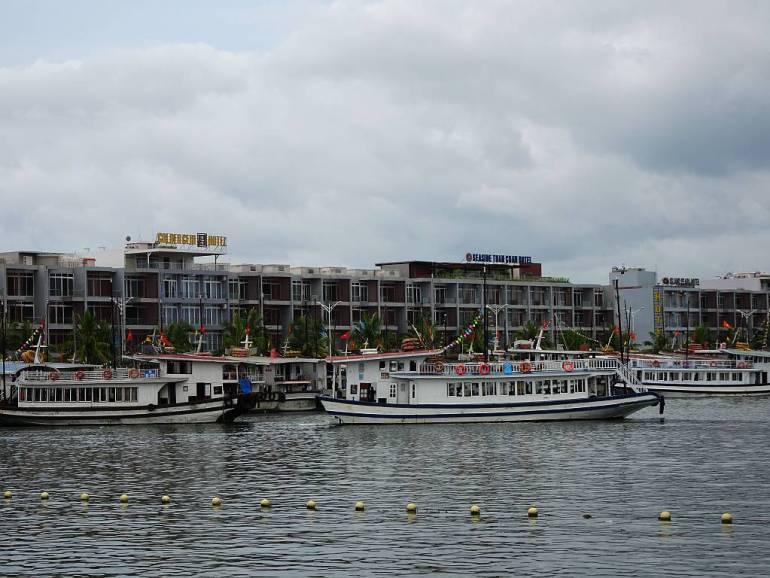 Halong Bucht Hafen