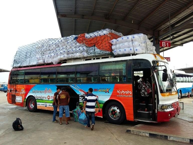Bus in Savannakhet