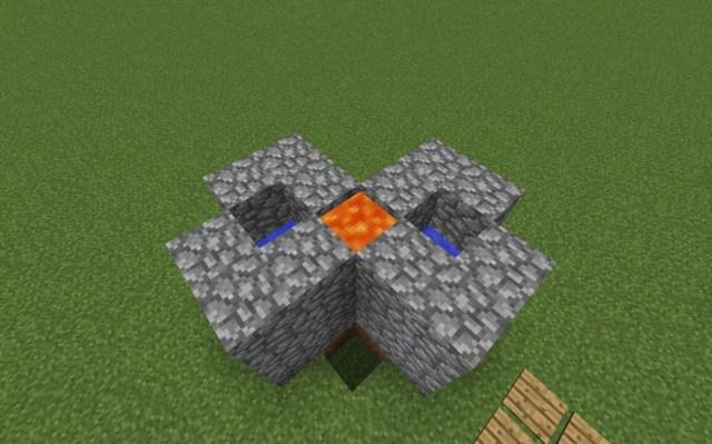 ᐅ Build Cobblestone Generator in Minecraft - minecraft-bauideen.de