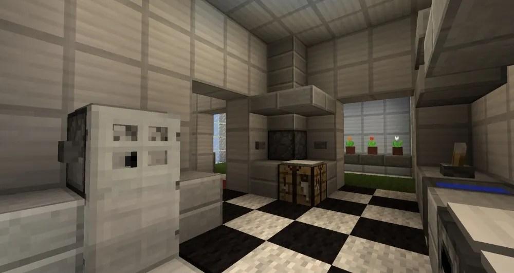 Minecraft Küche Bauen