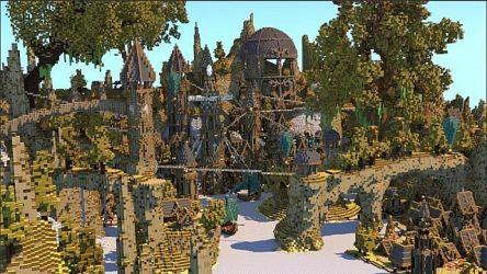 1 7 9/1 7 2] Imreldris Fantasy Port Town Map Download Minecraft Forum