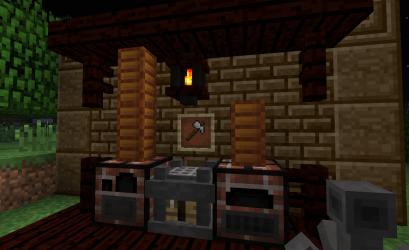 minecraft mod blacksmith mods forge requires hammer tool