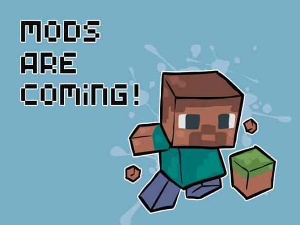 Daten-Minecraft mod