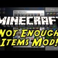 Minecraft Mods - Not enough Items=Too Many Items und Recipe Book für Minecraft 1.4.6