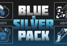 Blue & Silver PvP Texture Pack
