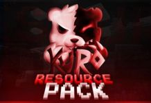 Minecraft PvP Texture Pack UHC Kuro Default
