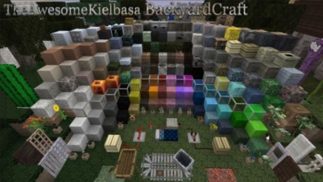 BackyardCraft Resource Pack 1.10