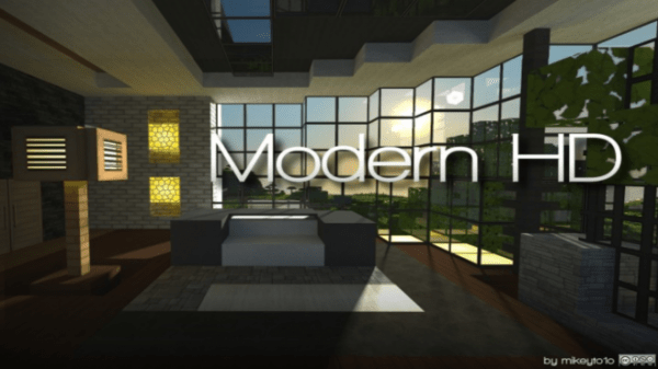 Modern HD Resource Pack for Minecraft 1122 112 1112 110
