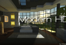 Modern HD Resource Pack Minecraft 1.11.2/1.10.2