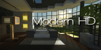 Modern HD Resource Pack Minecraft 1.12.2/1.11.2/1.10.2