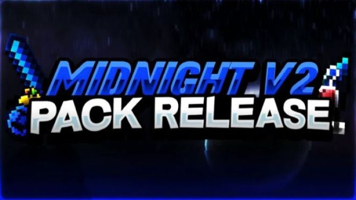 midnight v2 pvp texture pack fps friendly blue themed uhc pack