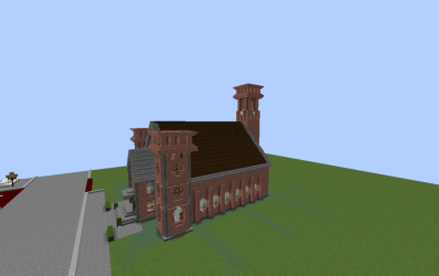 Small Church Furnished creation #8282