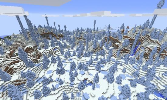 ICE SPIKES BIOME 19 Minecraft Seeds