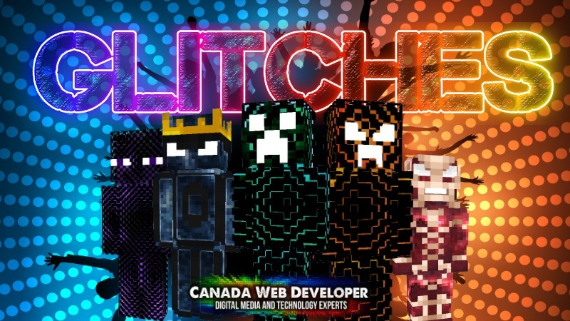 Something, somewhere went wrong and now sky blocky rifts are appearing and glitches in Minecraft are happening! Now these horrors are among us and you have to be skilled or lucky to survive. 10 HD skins including: - 1 free - 9 glitch skins 1 Exclusive skin by: Dannny0117 Created and Published by: Dannny0117 + Canada Web Developer.