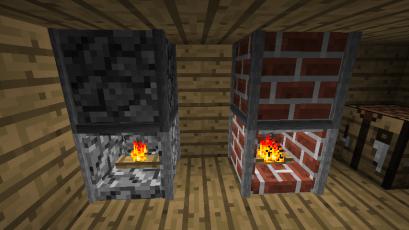 173 FIREPLACE BLOCK Minecraftfr
