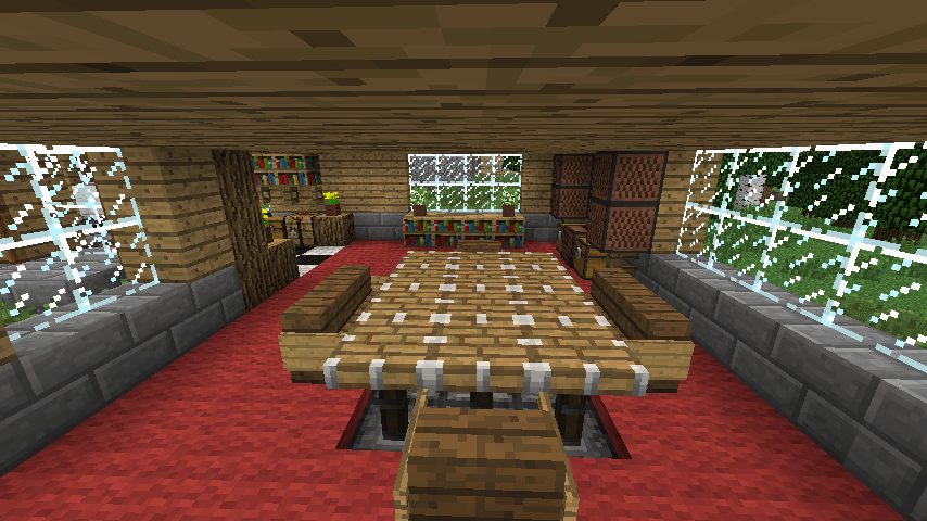 petite table ronde de cuisine