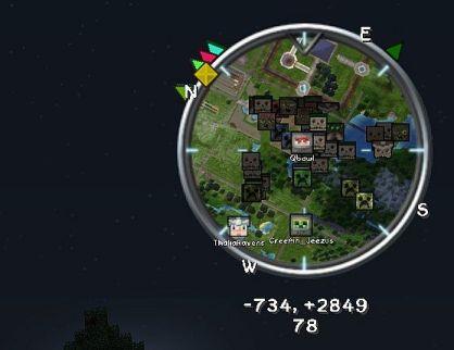 minimapa radar voxelmap