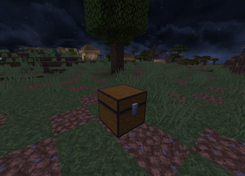 Cofre De Ganchillo De Minecraft Fallen Kingdom